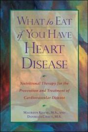 Cover of: What to eat if you have heart disease