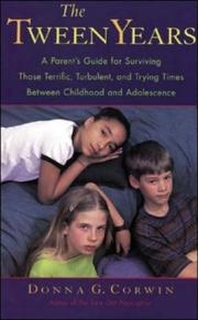 Tween Years by Donna G. Corwin