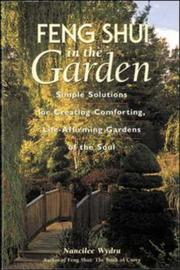 Cover of: Feng shui in the garden