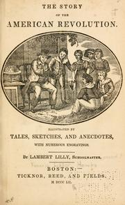 Cover of: The story of the American Revolution