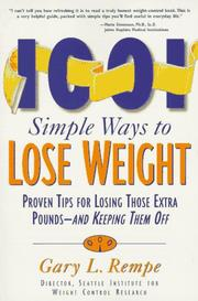 Cover of: 1,001 simple ways to lose weight