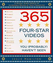 Cover of: 365 four-star videos you (probably) haven't seen | Leslie Hamilton