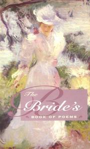 Cover of: The bride's book of poems | Cary O. Yager