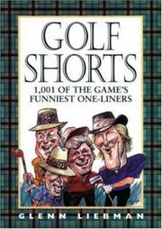 Cover of: Golf shorts | Glenn Liebman
