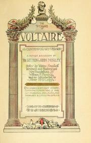 Cover of: works of Voltaire | Voltaire
