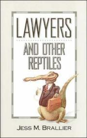 Cover of: Lawyers & other reptiles