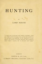 Cover of: Hunting