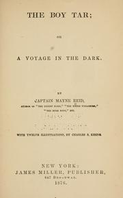 Cover of: The boy tar; or, A voyage in the dark