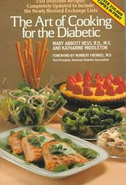 Cover of: The art of cooking for the diabetic