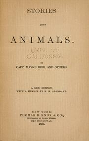 Cover of: Stories about animals
