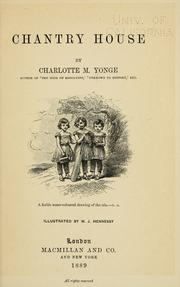 Cover of: Chantry House