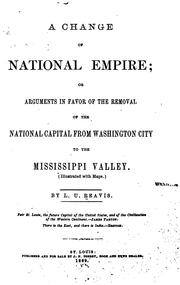 Cover of: A change of national empire