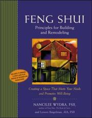 Cover of: Feng Shui principles for building and remodeling