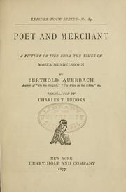 Cover of: Poet and merchant