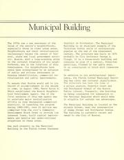 Cover of: Municipal building, fields corner: information for developers. | Boston Neighborhood Development Agency.