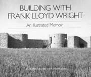 Cover of: Building with Frank Lloyd Wright