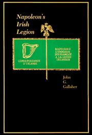 Cover of: Napoleon's Irish legion