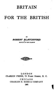 Cover of: Britain for the British