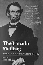 Cover of: The Lincoln Mailbag