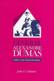 Cover of: General Alexandre Dumas