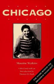 Cover of: Chicago | Maurine Watkins