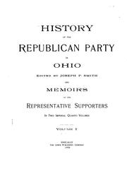 History of the Republican party in Ohio by Joseph P. Smith
