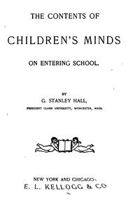 Cover of: The contents of children