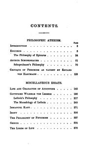 Cover of: Atheism in philosophy, and other essays | Hedge, Frederic Henry