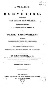 A treatise on surveying by John Gummere
