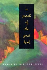 Cover of: In search of the great dead