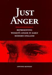 Just anger by Gwynne Kennedy
