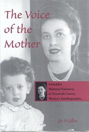 Cover of: The voice of the mother | Jo Malin