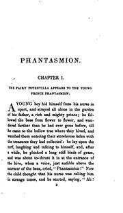 Cover of: Phantasmion | Sara Coleridge