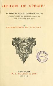 Charles Darwin Origin Of Species Book Cover | www.pixshark ...