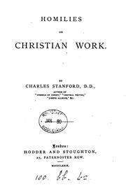 Cover of: Homilies on Christian work