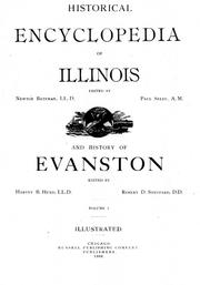 Cover of: Historical encyclopedia of Illinois |
