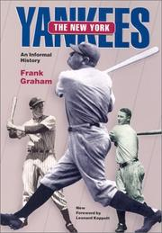 The New York Yankees by Graham, Frank
