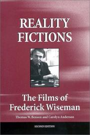 Cover of: Reality fictions | Thomas W. Benson
