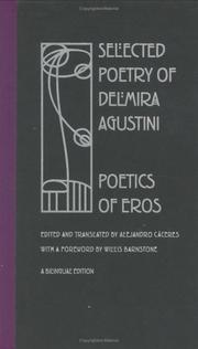 Cover of: Selected poetry of Delmira Agustini
