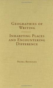 Cover of: Geographies of Writing | Nedra Reynolds