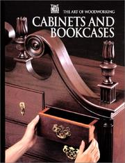 Cover of: Cabinets and bookcases