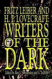 Cover of: Fritz Leiber and H.P. Lovecraft: Writers of the Dark
