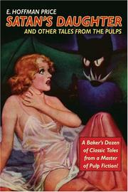Cover of: Satan's Daughter and Other Tales from the Pulps