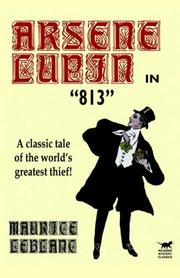 Cover of: Arsene Lupin in 813