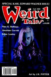 Cover of: Weird Tales 294 Fall 1989