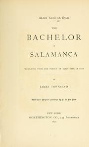 Cover of: The bachelor of Salamanca
