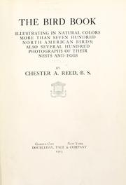 Cover of: The bird book | Chester A. Reed