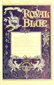 Cover of: Book of the Royal blue. | Baltimore and Ohio Railroad Company