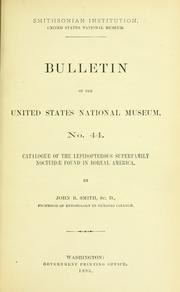 Cover of: Bulletin - United States National Museum. |