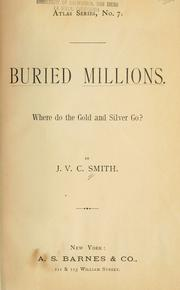Cover of: Buried millions